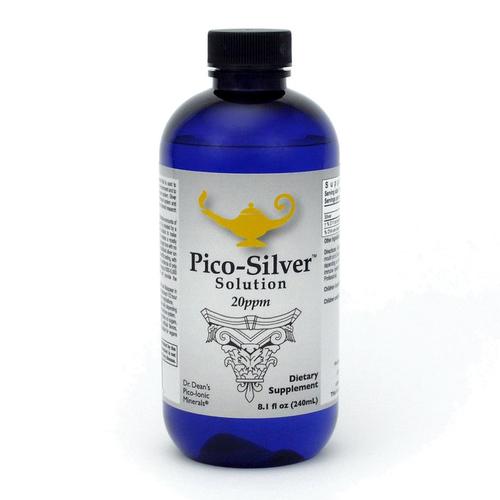 Pico-Silver Solution | Dr Dean's Pico-ion Zilver Oplossing - 240ml
